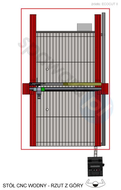 stół CNC ECOCUT II