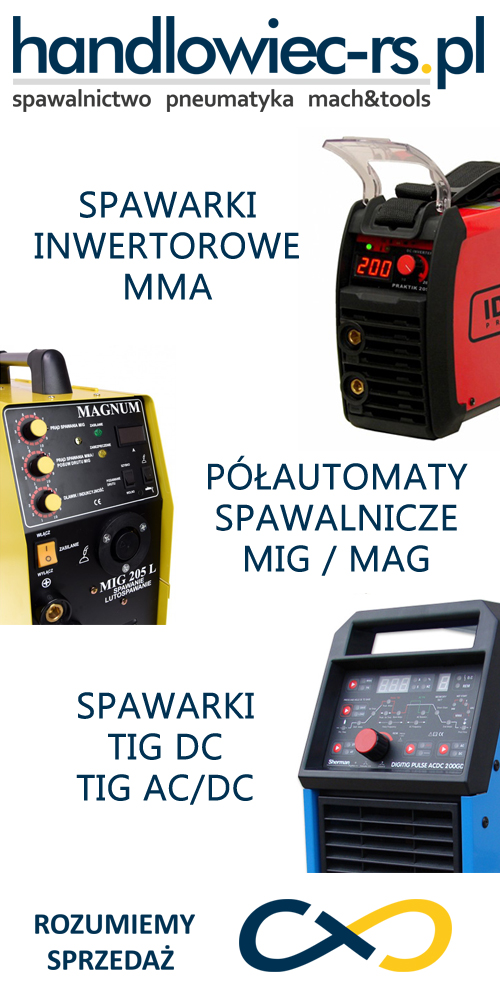 HANDLOWIEC-RS spawalnictwo pneumatyka mach&tools
